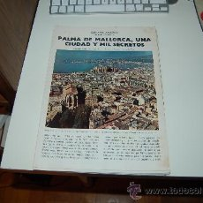 Coleccionismo de Revista Blanco y Negro: PALMA DE MALLORCA: PRECIOSO REPORTAJE GRÁFICO DE LOS AÑOS 60. Lote 27036604