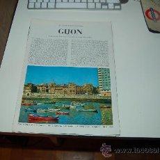 Coleccionismo de Revista Blanco y Negro: GIJÓN ( ASTURIAS ): PRECIOSO REPORTAJE GRÁFICO DE LOS AÑOS 60. Lote 27036615