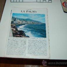 Coleccionismo de Revista Blanco y Negro: LA PALMA ( CANARIAS ): PRECIOSO REPORTAJE GRÁFICO DE LOS AÑOS 60. Lote 27036618