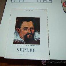 Coleccionismo de Revista Blanco y Negro: KEPLER( LOS EXPLORADORES DEL INFINITO): PRECIOSO REPORTAJE BIOGRÁFICO DE LOS AÑOS 60. Lote 27036619