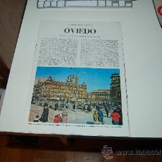 Coleccionismo de Revista Blanco y Negro: OVIEDO ( ASTURIAS ): PRECIOSO REPORTAJE GRÁFICO DE LOS AÑOS 60. Lote 27036621