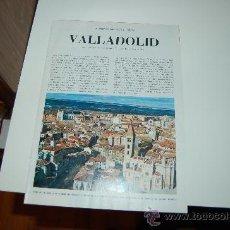 Coleccionismo de Revista Blanco y Negro: VALLADOLID: PRECIOSO REPORTAJE GRÁFICO DE LOS AÑOS 60. Lote 27137147