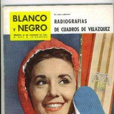Coleccionismo de Revista Blanco y Negro: REVISTA BLANCO Y NEGRO . FEBRERO DE 1961. CONCHITA VELASCO. Lote 25600582
