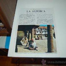 Coleccionismo de Revista Blanco y Negro: LA ALBERCA ( SALAMANCA ): PRECIOSO REPORTAJE GRÁFICO DE FINALES DE LOS AÑOS 60. Lote 26914251