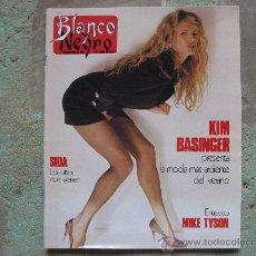 Collectionnisme de Magazine Blanco y Negro: BLANCO Y NEGRO,KIM BASINGER,PORTADA Y REPOR.-ESTEFANIA KNUTH-BETTY GRABLE-MIKE TYSON.. Lote 27707205