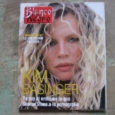 Collectionnisme de Magazine Blanco y Negro: BLANCO Y NEGRO,KIM BASINGER,PORTADA Y REPO.-ROCIO JURADO-HARRISON FORD-SINEAD O'CONNOR-CONCHA PIQUER. Lote 27707302
