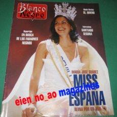 Coleccionismo de Revista Blanco y Negro: BLANCO Y NEGRO Nº 3998/1996 MARIA JOSE SUAREZ MISS ESPAÑA~SANTIAGO SEGURA~OSTERN PINTOR. Lote 27750120