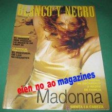 Coleccionismo de Revista Blanco y Negro: BLANCO Y NEGRO Nº 4104/1998 MADONNA~LAURA MORANTE FLAMENCO. Lote 29399125