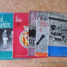 Coleccionismo de Revista Blanco y Negro: EL ARBITRO,BOLETIN DEL COMITE NACIONAL DE ARBITROS,NUMEROS SUELTOS,A 5 € CADA UNO. Lote 28037405