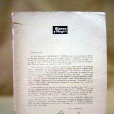 Coleccionismo de Revista Blanco y Negro: REVISTA, BLANCO Y NEGRO, EDICION ESPECIAL, 1969. Lote 28773525