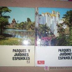Coleccionismo de Revista Blanco y Negro: PARQUES Y JARDINES ESPAÑOLES / 24 COLECCIONABLE BLANCO Y NEGRO EN 2 VOLUMENES, 1969 1971. Lote 53871983