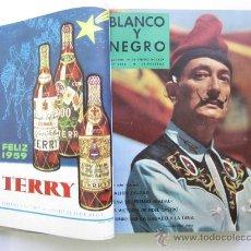 Coleccionismo de Revista Blanco y Negro: TOMO REVISTA BLANCO Y NEGRO, AÑO 1959 - DALI, DI ESTEFANO, AURORA BAUTISTA, ANTONIO BAILARIN, FUTBOL. Lote 96573291