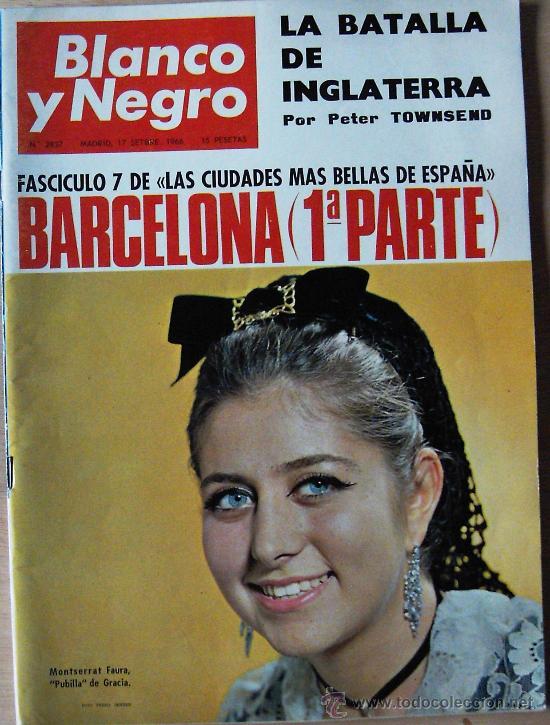 (RV198) ANTIGUA REVISTA BLANCO Y NEGRO - SEPTIEMBRE 1966 (Coleccionismo - Revistas y Periódicos Modernos (a partir de 1.940) - Blanco y Negro)