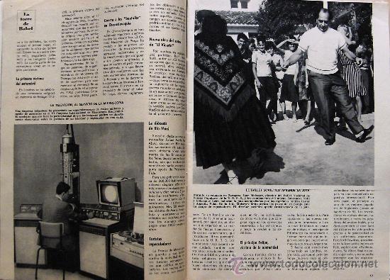 Coleccionismo de Revista Blanco y Negro: (RV198) ANTIGUA REVISTA BLANCO Y NEGRO - SEPTIEMBRE 1966 - Foto 2 - 29044772