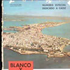 Coleccionismo de Revista Blanco y Negro: BLANCO Y NEGRO, Nº 2461, MADRID 1959.NÚMERO ESPECIAL DEDICADO A CÁDIZ, CARMEN LAFORET. Lote 29894552