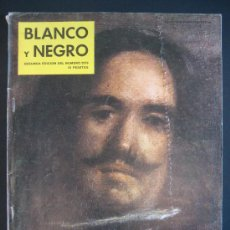 Coleccionismo de Revista Blanco y Negro: VELÁZQUEZ. BLANCO Y NEGRO. Lote 29952809
