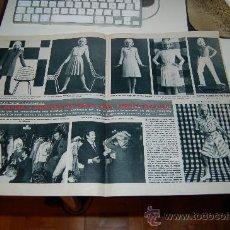 Coleccionismo de Revista Blanco y Negro: SYLVIE VARTAN ABRE SU BOUTIQUE. REPORTAJE GRÁFICO DE 1965. Lote 30121452