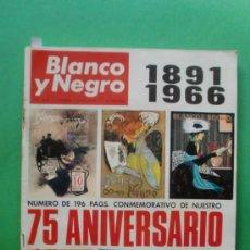 Coleccionismo de Revista Blanco y Negro: BLANCO Y NEGRO Nº 2.818 7 MAYO 1966 75 ANIVERSARIO ANTOLOGIA DE ILUSTRADORES DE BLANCO Y NEGRO. Lote 31084909