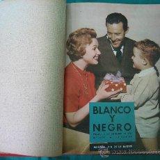 Coleccionismo de Revista Blanco y Negro: REVISTA ENCUADERNADA BLANCO Y NEGRO 1957. Lote 32108587