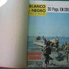 Coleccionismo de Revista Blanco y Negro: REVISTA ENCUADERNADA BLANCO Y NEGRO 1964. Lote 32108595