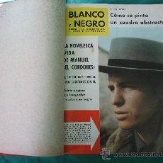 Coleccionismo de Revista Blanco y Negro: REVISTA ENCUADERNADA BLANCO Y NEGRO 1962. Lote 32108621