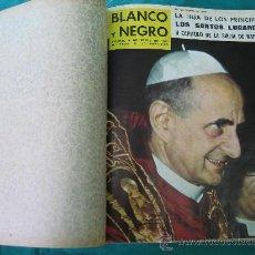 Coleccionismo de Revista Blanco y Negro: REVISTA ENCUADERNADA BLANCO Y NEGRO 1964. Lote 32108642