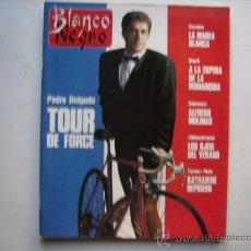 Coleccionismo de Revista Blanco y Negro: BLANCO Y NEGRO,MARIBEL VERDU-CICLISMO,PORTADA Y REPORTAJE PEDRO DELGADO-CINE,KATHARINE HEPBURN.. Lote 32265031