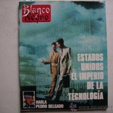 Coleccionismo de Revista Blanco y Negro: BLANCO Y NEGRO,CICLISMO,EL TOUR DE PEDRO DELGADO-TINA TURNER-BALONCESTO,MICHAEL JORDAN. Lote 32271027