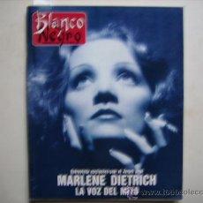 Coleccionismo de Revista Blanco y Negro: BLANCO Y NEGRO,JACQUES COUSTEAU-CINE,PORTADA Y ENTREVISTA,MARLENE DIETRICH-REPORTAJE DE EL ROCIO. Lote 32271046