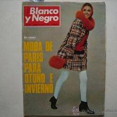 Coleccionismo de Revista Blanco y Negro: BLANCO Y NEGRO,MODA DE PARIS-FESTIVAL HIPPY-MENORCA,16 PAG.-FERIA DE BILBAO,TOROS-REGATAS CAMBRIDG. Lote 32424118