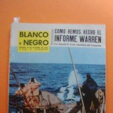 Colecionismo de Revistas Preto e Branco: BLANCO Y NEGRO Nº 2736 10/10/1964 PESCADORES DE BALLENAS - LAIKA LA CARAVANA DEL 600. Lote 33482390