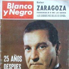 Coleccionismo de Revista Blanco y Negro: ANTONIO BIENVENIDA – REVISTA BLANCO Y NEGRO 2841 OCTUBRE 1966. Lote 63598824