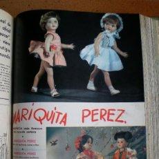 Coleccionismo de Revista Blanco y Negro: TOMO REVISTAS BLANCO Y NEGRO AÑO 1960, CON ANUNCIO MARIQUITA PÉREZ. Lote 34064786
