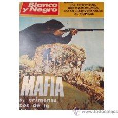 Coleccionismo de Revista Blanco y Negro: BLANCO Y NEGRO 3064-1971- LA MAFIA - SANTA MARIA LA REAL DE HUERTA - NUEVA DE STOCK DE KIOSKO !!!. Lote 35432930