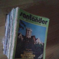 Coleccionismo de Revista Blanco y Negro: LA REVISTA DE SANTANDER. Lote 35714569
