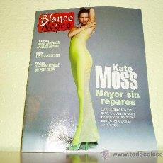 Coleccionismo de Revista Blanco y Negro: REVISTA BLANCO Y NEGRO Nº 4021 KATE MOSS. Lote 35862278