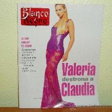 Coleccionismo de Revista Blanco y Negro: REVISTA BLANCO Y NEGRO Nº 4024 VALERIA MAZZA. Lote 35862777