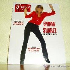 Coleccionismo de Revista Blanco y Negro: REVISTA BLANCO Y NEGRO Nº 4032 EMMA SUAREZ 1996. Lote 36100783