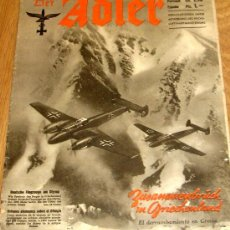 Coleccionismo de Revista Blanco y Negro: DER ADLER Nº 10 20 MAYO 1941. Lote 36571579