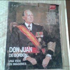 Coleccionismo de Revista Blanco y Negro: BLANCO Y NEGRO.- DON JUAN DE BORBON.- UNA VIDA EN IMAGENES. Lote 36572509