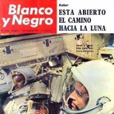 Coleccionismo de Revista Blanco y Negro: REVISTA BLANCO Y NEGRO - SEPTIEMBRE 1965 - ESTA ABIERTO EL CAMINO A LA LUNA.. Lote 36789034