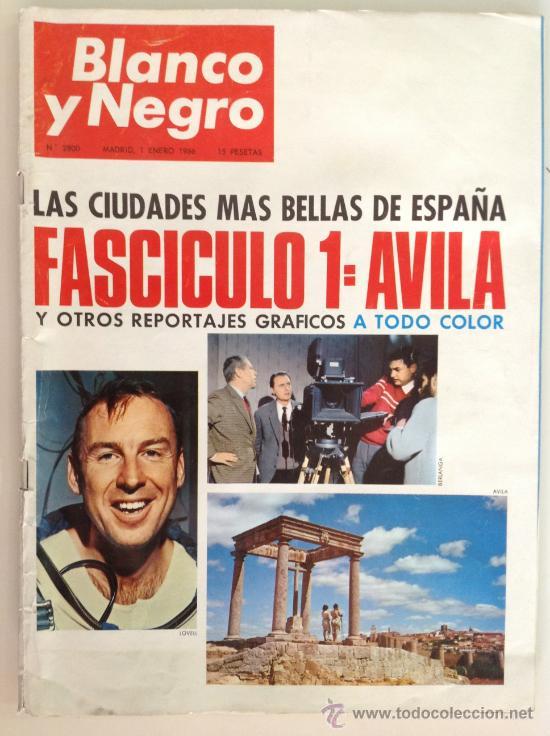 REVISTA BLANCO Y NEGRO Nº2800 1 ENERO 1966 (Coleccionismo - Revistas y Periódicos Modernos (a partir de 1.940) - Blanco y Negro)