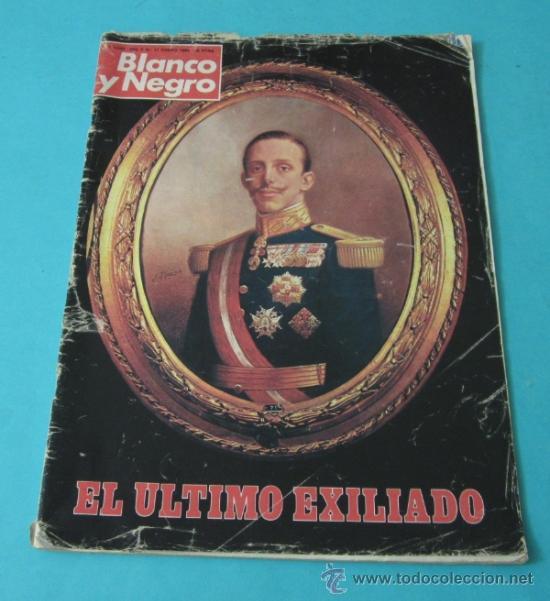 BLANCO Y NEGRO. EL ÚLTIMO EXILIADO. 9 AL 15 ENERO Nº3532. 1980 (Coleccionismo - Revistas y Periódicos Modernos (a partir de 1.940) - Blanco y Negro)