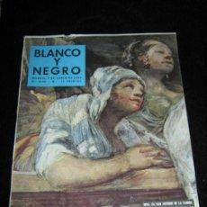 Colecionismo de Revistas Preto e Branco: BLANCO Y NEGRO - Nº 2405 - 7 JUNIO 1958 - GOYA EN SAN ANTONIO DE LA FLORIDA . Lote 37547000