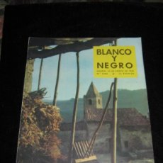 Colecionismo de Revistas Preto e Branco: BLANCO Y NEGRO - Nº 2386 - 25 ENERO 1958 - SANT ROMA DE SAU - BARCELONA. Lote 37548499