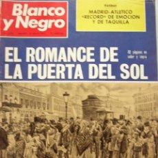 Collectionnisme de Magazine Blanco y Negro: REVISTA BLANCO Y NEGRO. MAY-1972. HISTORIA DE LA PUERTA DEL SOL. MUY ILUSTRADO 32 PP DEDICADAS.. Lote 37667842
