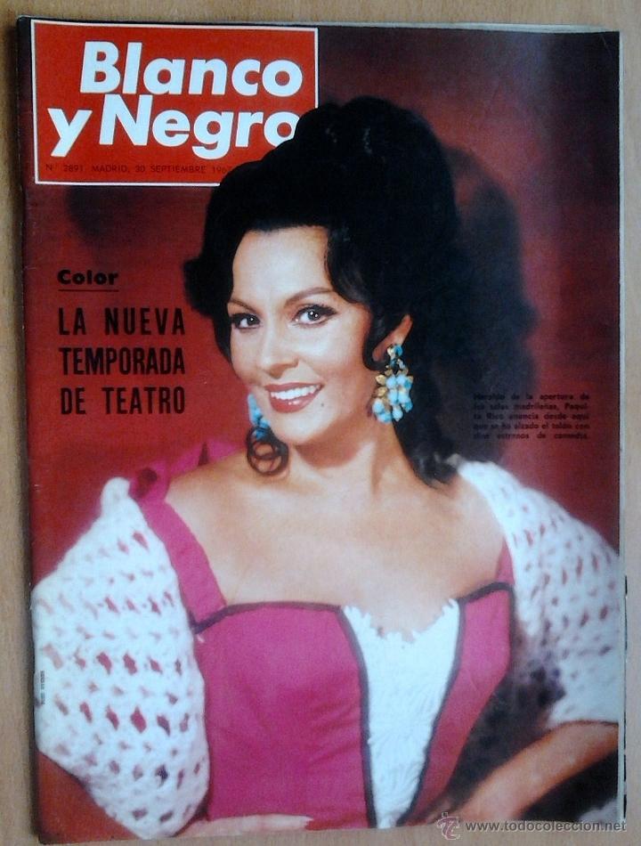 BLANCO Y NEGRO-Nº2891-30/9/1967-TEMPORADA TEATRO-MOSCU-ESPAÑA (COPA DAVIS) (Coleccionismo - Revistas y Periódicos Modernos (a partir de 1.940) - Blanco y Negro)