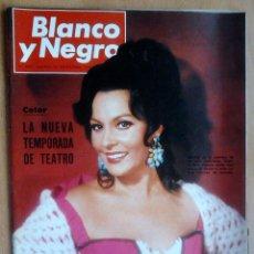 Coleccionismo de Revista Blanco y Negro: BLANCO Y NEGRO-Nº2891-30/9/1967-TEMPORADA TEATRO-MOSCU-ESPAÑA (COPA DAVIS). Lote 39947294