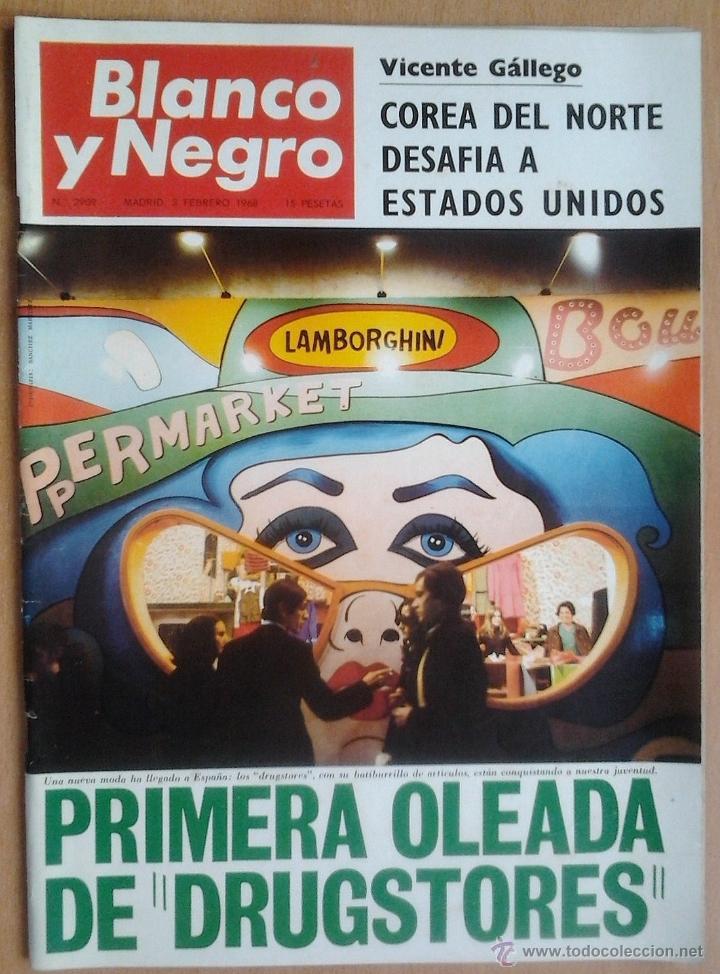 BLANCO Y NEGRO-Nº2909-3/2/1968-SAN SEBASTIAN-DON JUAN CARLOS (Coleccionismo - Revistas y Periódicos Modernos (a partir de 1.940) - Blanco y Negro)