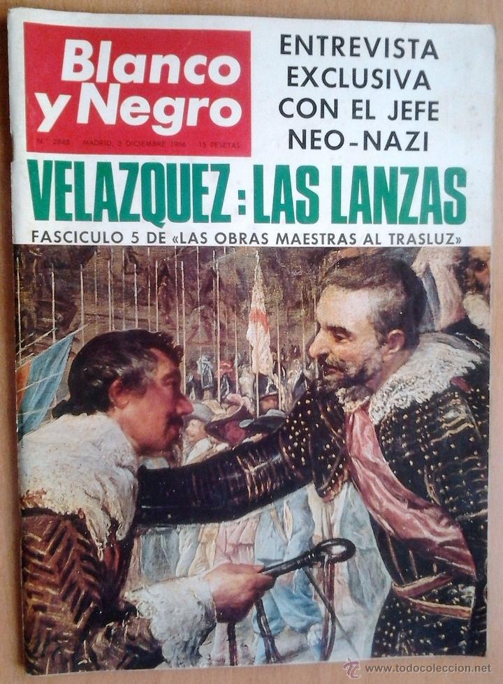 BLANCO Y NEGRO-Nº2848-AÑO 3/12/1966-VELAZQUEZ-LOS DUQUES DE WINDSOR-PICASSO-MONACO (Coleccionismo - Revistas y Periódicos Modernos (a partir de 1.940) - Blanco y Negro)